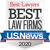 Best Lawyers Best Law Firms 2020 badge